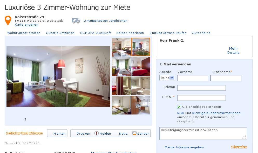 Zimmer Wohnung Heidelberg