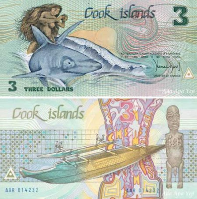 Cook Islands Dollar (Mata Uang Negara Kepulauan Cook)