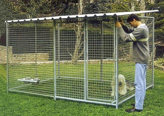 Alla ricerca del siberian husky box a prova di husky - Recinto mobile per cani ...