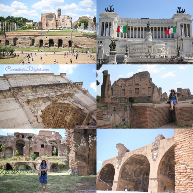 The Forum (and a bit of the Palantine).
