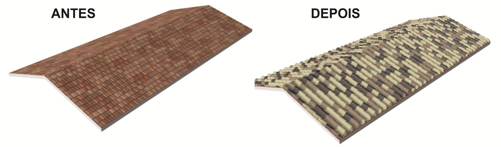 Noletoblog como inserir telhas no archicad for Techos con formas