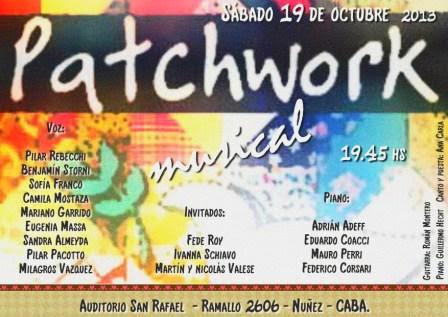 Show Octubre 2013 - Auditorio San Rafael
