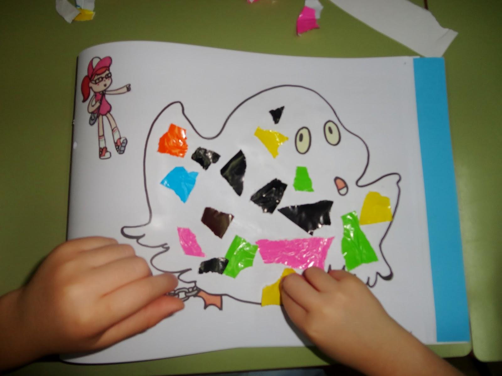 arias montano infantil rasgar y pegar papel 3a osa On papel de pegar