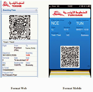 Tunisair lance le web & mobile check-in