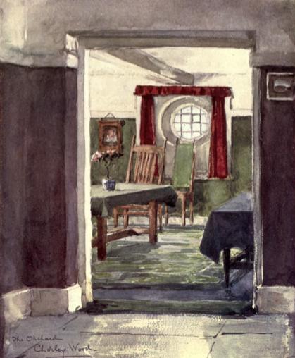 an hobbitian dining room