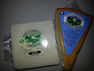 Smith's Gouda and Cheddar Cheeses