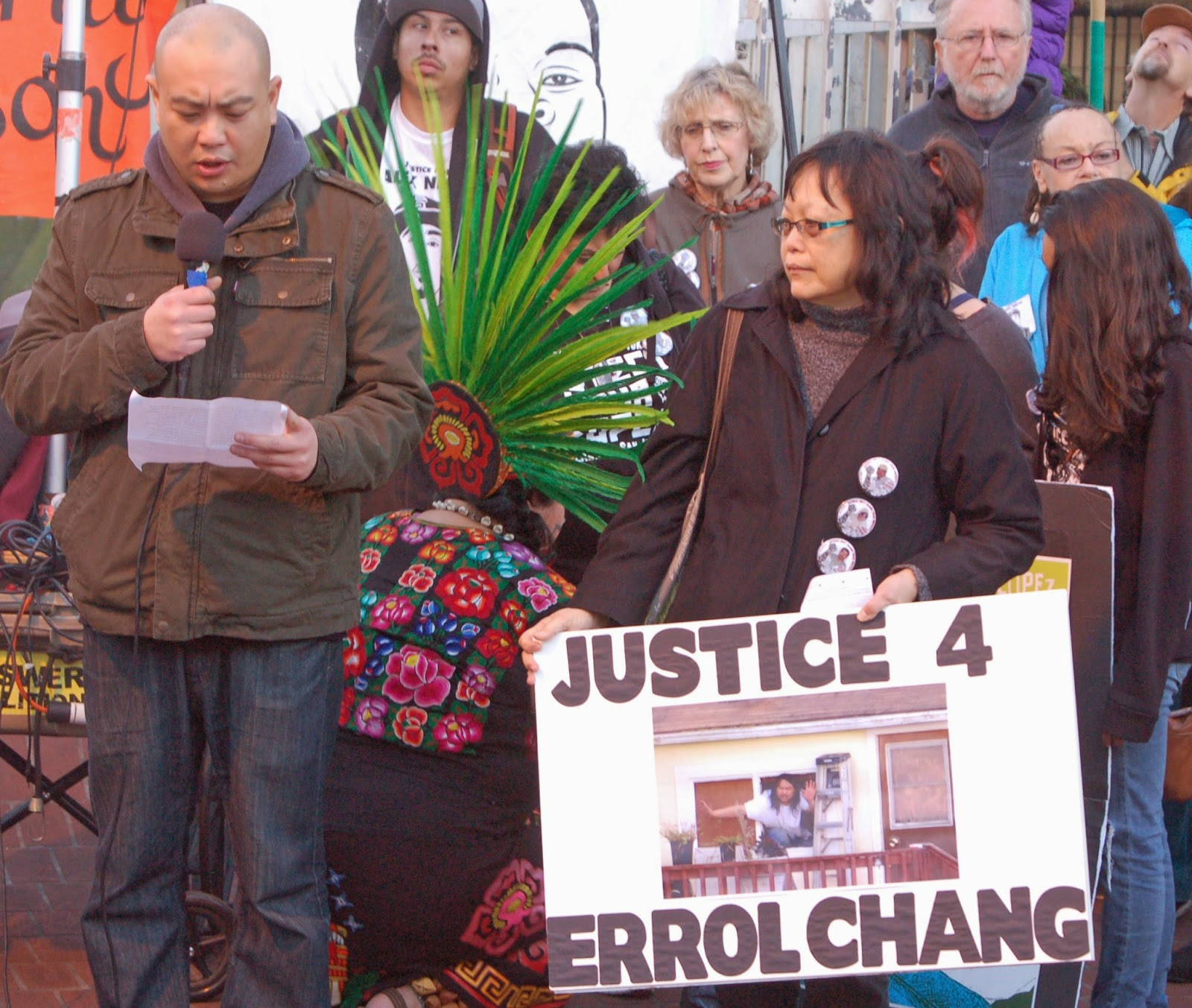 Anger For Aurora Shooting Victims Families Over Relief: Can It Happen Here?: Posada In The Mission Remembering