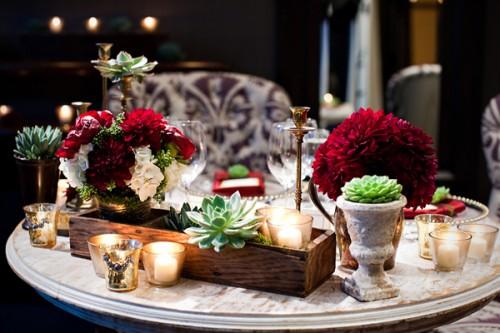 De lovely affair diy ideas mini succulents eco