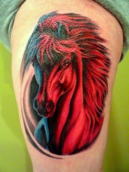 The Best Horse Tattoos (Gallery 2)