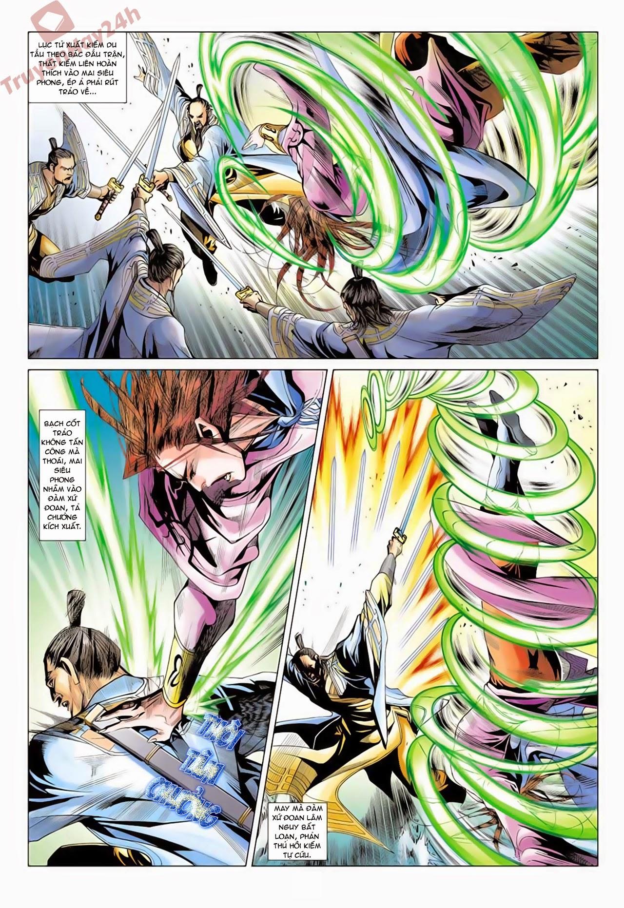 xem truyen moi - Anh Hùng Xạ Điêu - Chapter 62 : Thiên Canh Bắc Đẩu Phá Cửu Âm Bạch Cốt