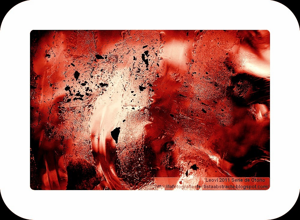 Foto Abstracta 3189  Arde, furor oculto - Burns, hidden rage