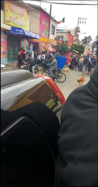 Elección fraudulenta en Mixquic, vecinos culpan al delegado