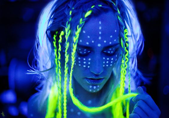 Glow And The Dark Face Paint