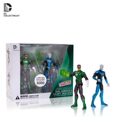 "DC Colectibles NYCC Exclusive 3.75"" Green Lantern & Saint Walker Figure Set"