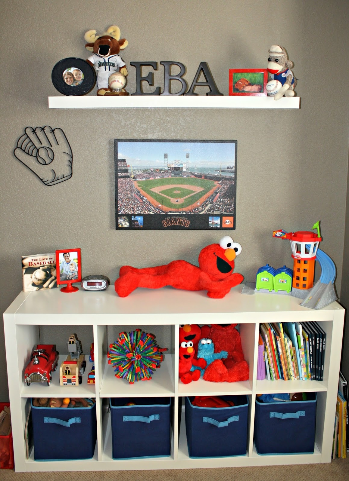 Big Boy Baseball Room