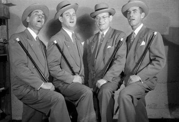 Barbershop Music : barbershop_singing+sing+barber+barbershop+the_cardinals+quartet+1949 ...