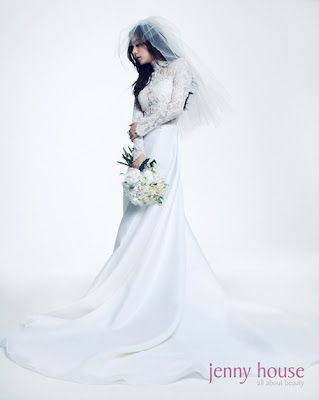 Min Hyo Rin Beautiful Bride J Style Magazine 2011