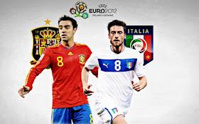 Final EURO 2012 Italia vs Spanyol