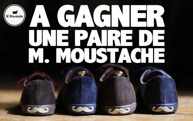 6 paires de chaussures au choix M. Moustache