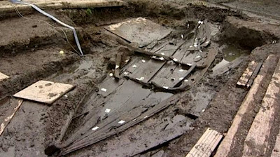 Medieval boat unearthed in Norfolk marshland