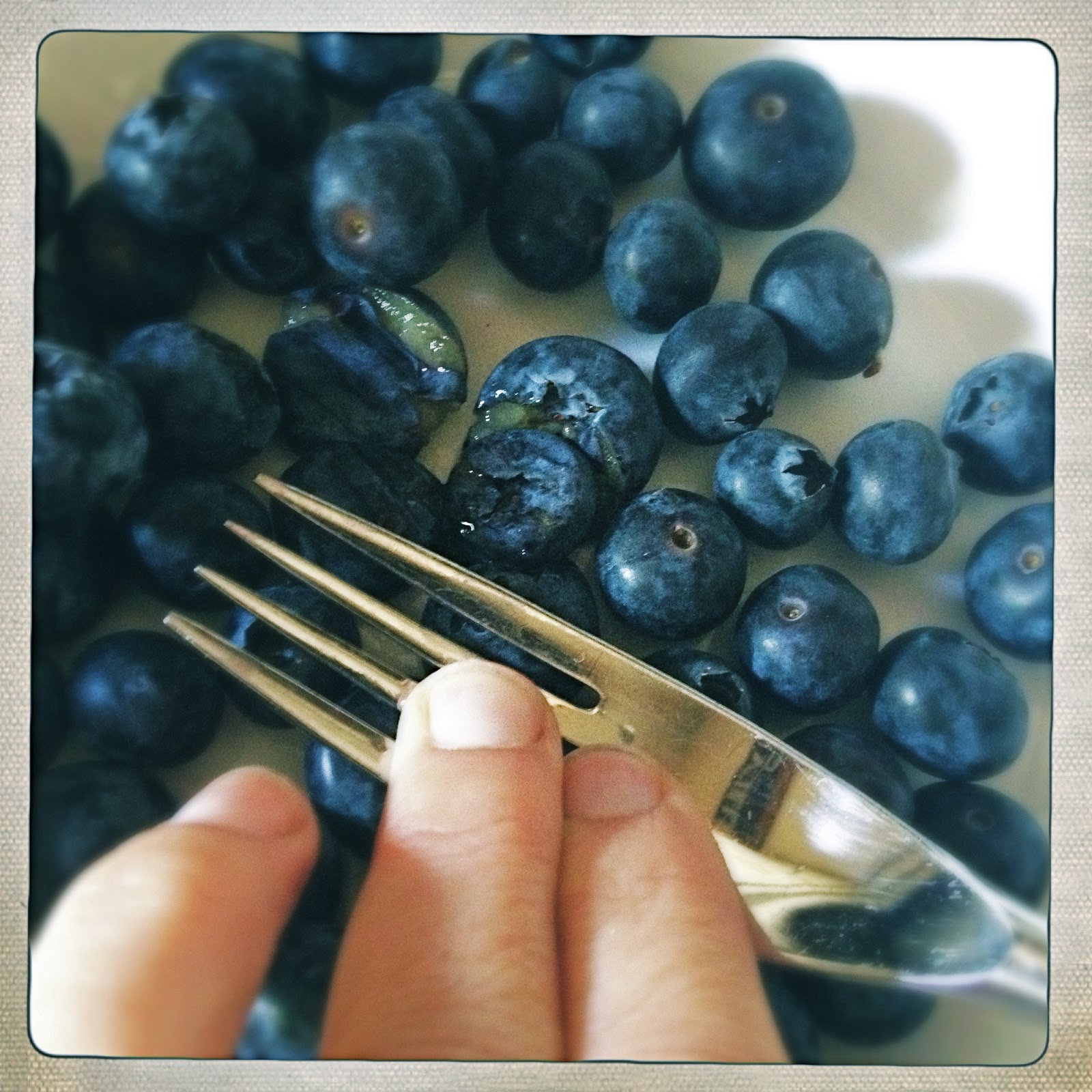 Slice Of Slim: SMASH & GRAB : Smashed Blueberry 'Jam'
