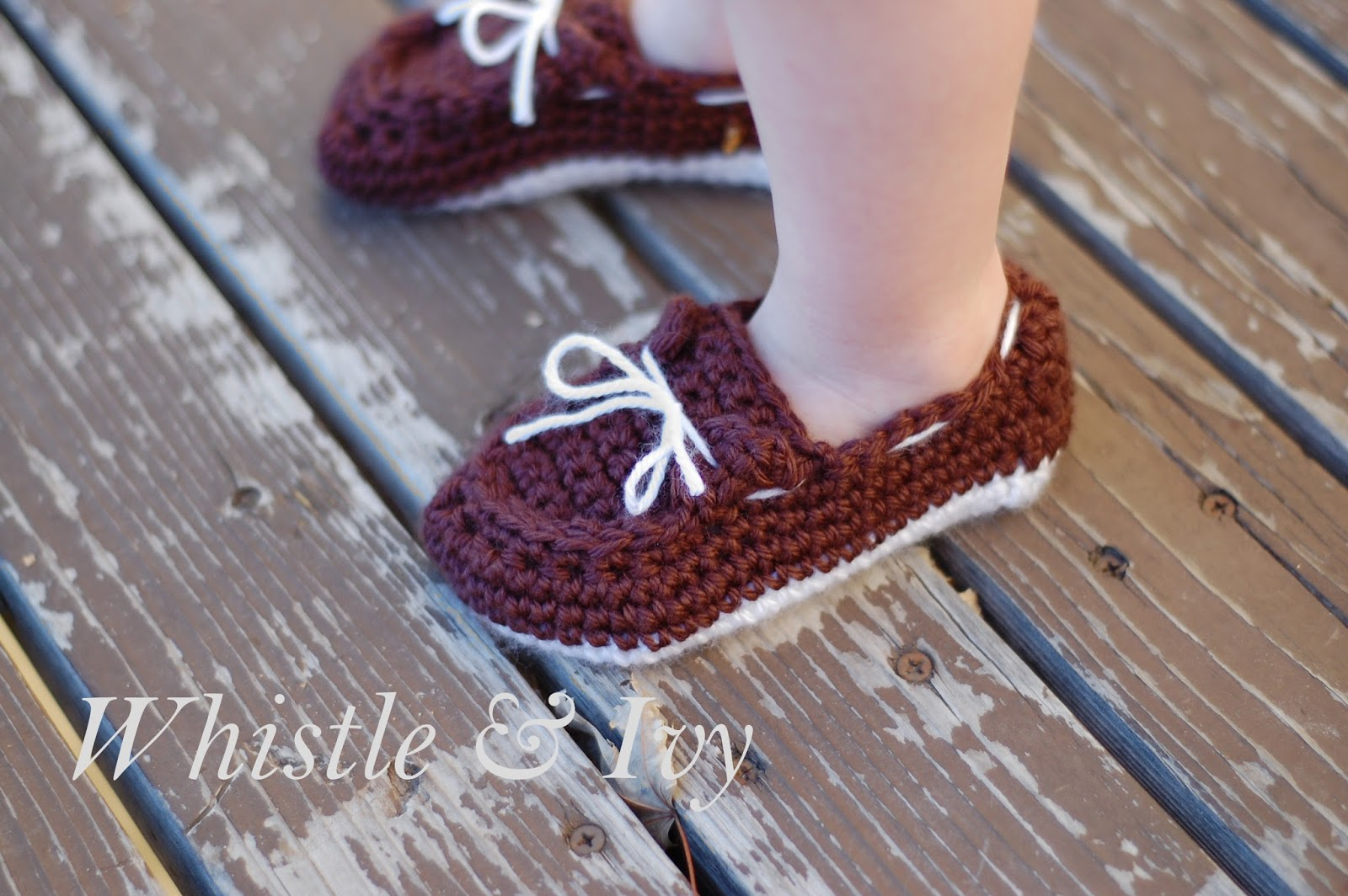 Free Crochet Pattern For Baby Boat Shoes : Hopeful Honey Craft, Crochet, Create: Toddler Boat ...