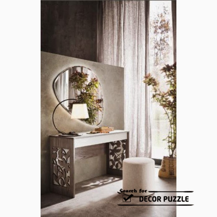 latest modern dressing table designs with mirror for