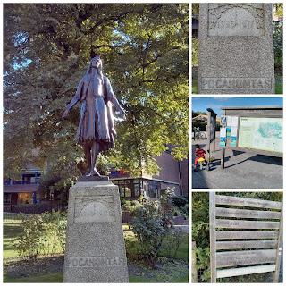 Pocahontas Statue Gravesend