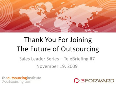 outsourcing sales - is it the future