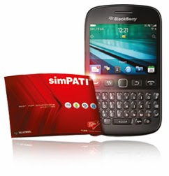 simPATI Bundling Blackberry Samoa 9720