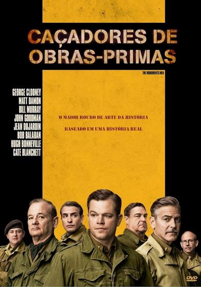 Filme Caçadores De Obras Primas Dublado AVI BDRip