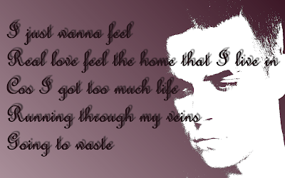 Feel - Robbie Williams Song Lyric Quote in Text Image