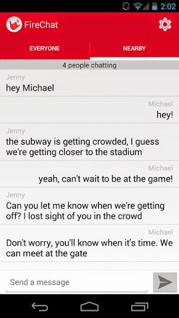 تطبيق FireChat: تواصل مع أصدقائك دون الحاجة للأنترنيت