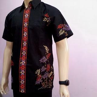 Model Batik Pria Modern Terbaru
