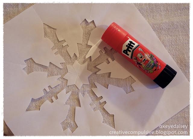 snow flake stencil