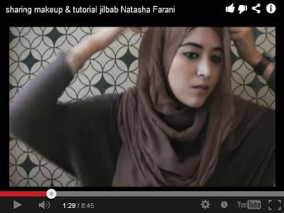 Cara Memakai Jilbab Praktis Ala Natasha Farani