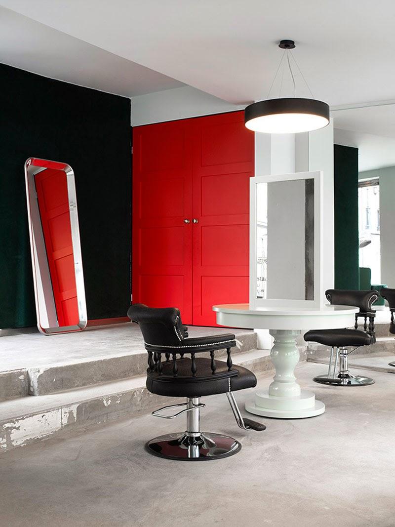proyecto de interiorismo peluquería Inch HairStudio