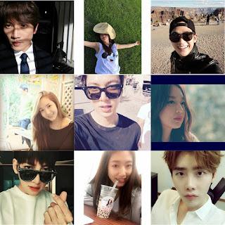 gambar akun instagram aktor & aktris korea