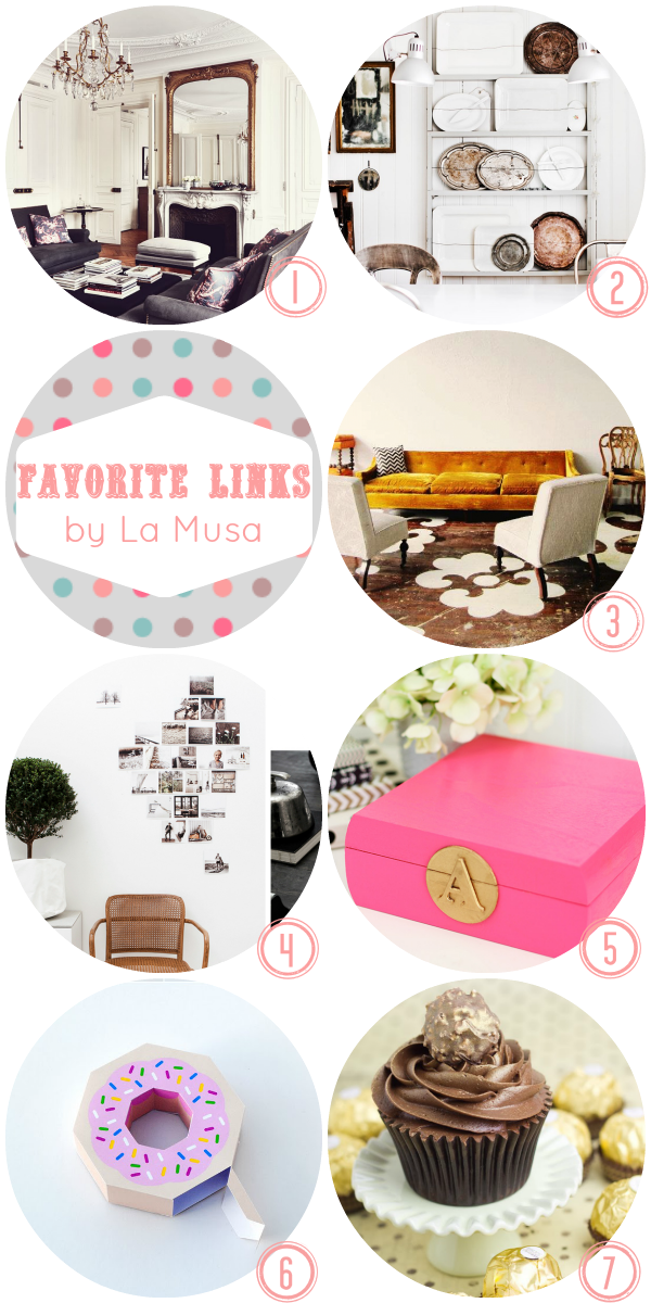 Favorite Links, La Musa, Deco, Decoracion, DIY, Freebie, Recipe, Receta