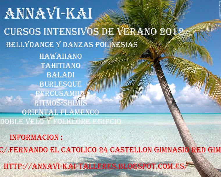 cursos y talleres intensivos de verano 2012 bellidance y polinesia