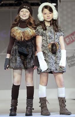 MODA INFANTIL INVIERNO ETNICO 2012