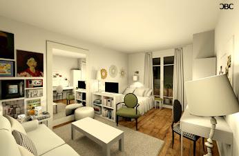 Aménagement d'un petit appartement