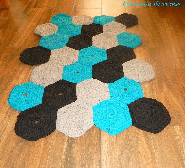 Las cosicas de mi casa alfombra de trapillo - Alfombras de trapillo ...