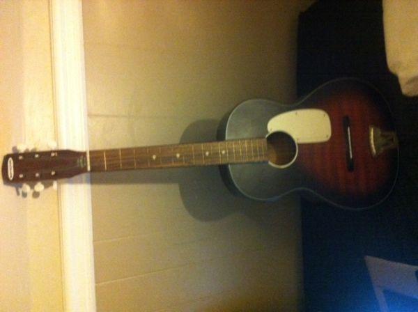 Craigslist Vintage Guitar Hunt Marveltone Acoustic In