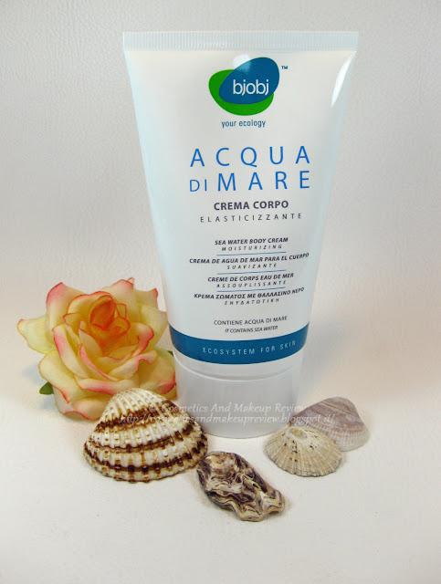 BJOBJ - Acqua di Mare - Crema corpo elasticizzante
