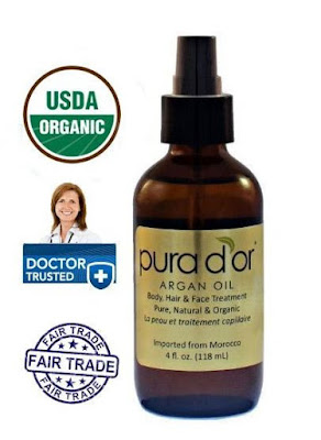 Pura d'Or Organic Argan Oil
