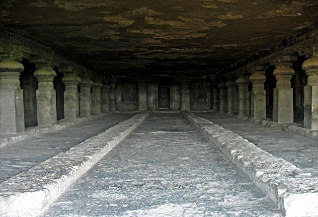temple hall ellora