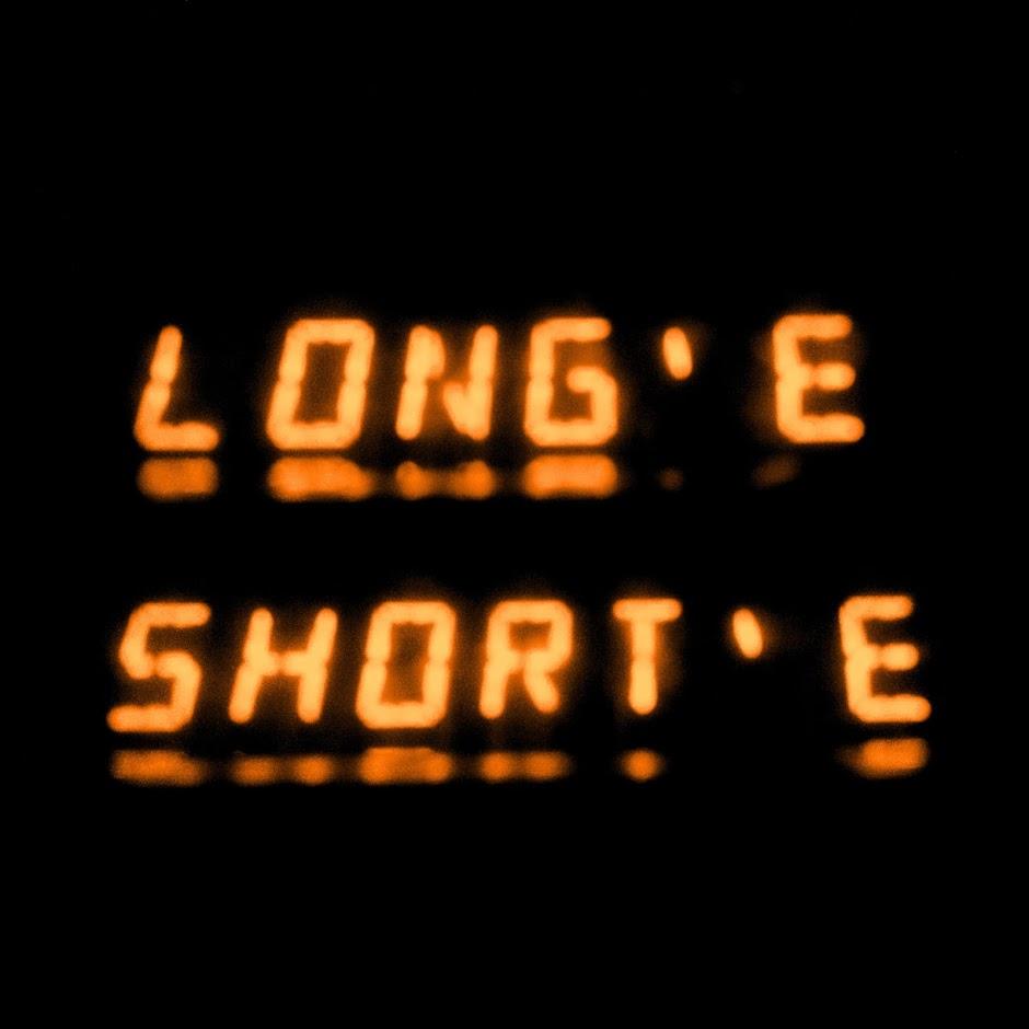 LONG E, short e