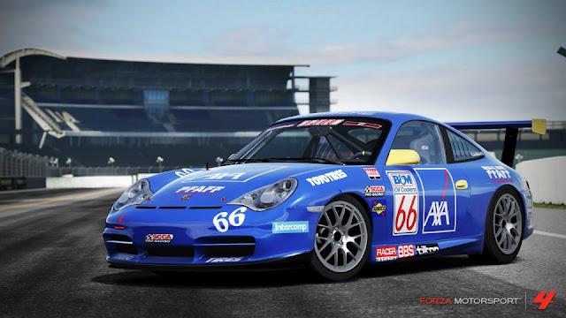 Paquete porsche 2005+%2366+AXA+Racing+911+GT3+Cup+(996)