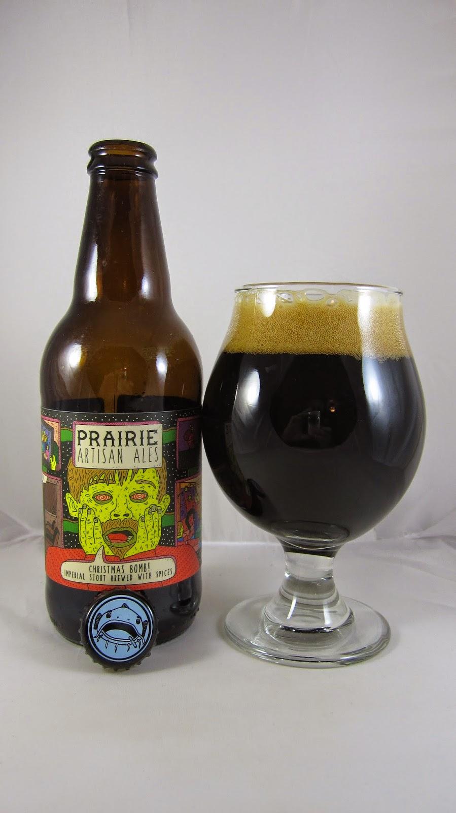 Chad'z Beer Reviews: Prairie Christmas Bomb!